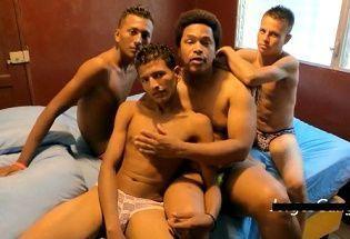 meninos pobres da favela